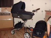 For sale Stokke Xplory Dark Navy/Bugaboo 'Bee' Stroller