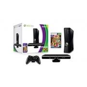 New Microsoft Xbox 360 250GB System+Kinect Sensor&Game