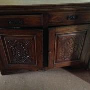 Beautiful antique large cabinet