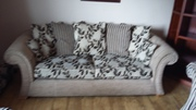 Suite of furniture 3, 2 & 1 seater and foot rest